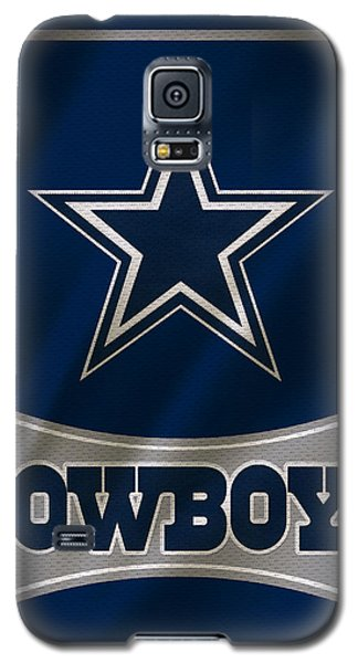 Dallas Cowboys Uniform Galaxy S5 Case by Joe Hamilton