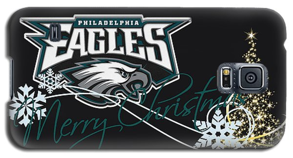 Philadelphia Eagles Galaxy S5 Case by Joe Hamilton