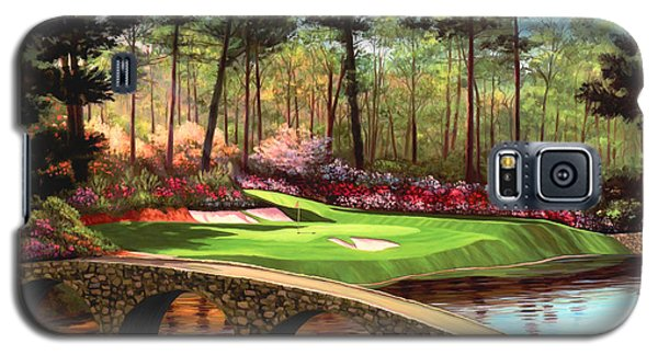12th Hole At Augusta  Galaxy S5 Case by Tim Gilliland