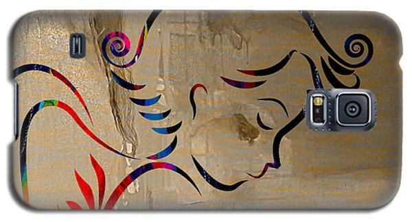 Angel Galaxy S5 Case by Marvin Blaine