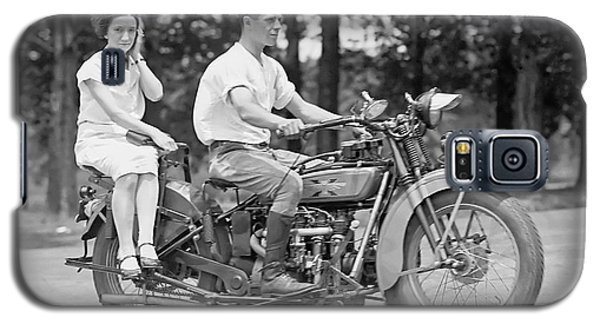 1930s Motorcycle Touring Galaxy S5 Case by Daniel Hagerman