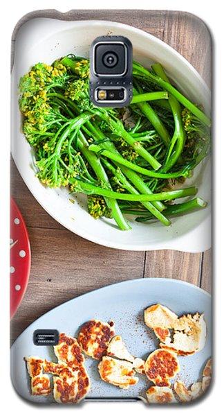 Broccoli Stems Galaxy S5 Case by Tom Gowanlock