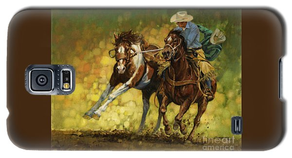Rodeo Pickup Galaxy S5 Case by Don  Langeneckert