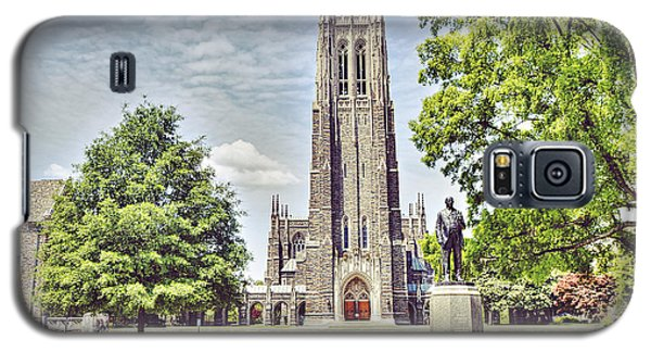 Duke Chapel In Spring Galaxy S5 Case by Emily Kay