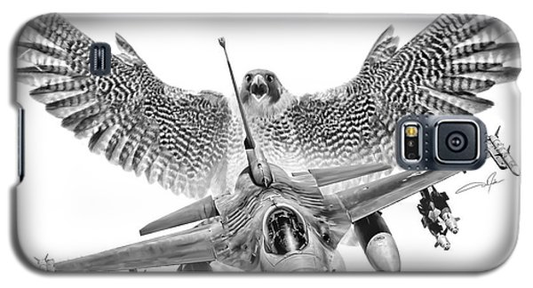 F-16 Fighting Falcon Galaxy S5 Case by Dale Jackson
