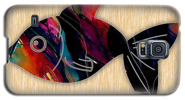 Fish Painting Galaxy S5 Case by Marvin Blaine