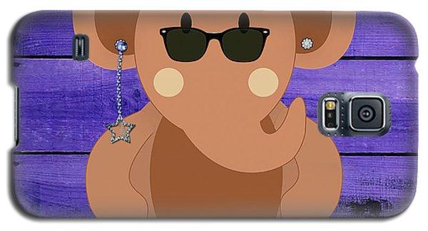 Friendly Elephant Art Galaxy S5 Case by Marvin Blaine