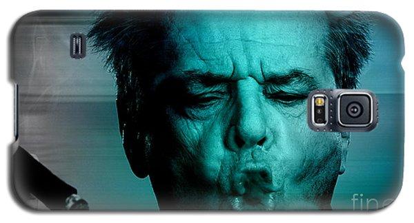 Jack Nicholson Galaxy S5 Case by Marvin Blaine