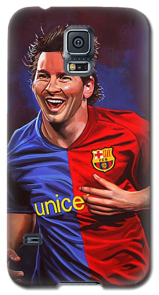 Buy Galaxy S5 Cases - Lionel Messi  Galaxy S5 Case by Paul Meijering