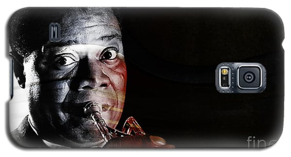 Louis Armstrong Galaxy S5 Case by Marvin Blaine