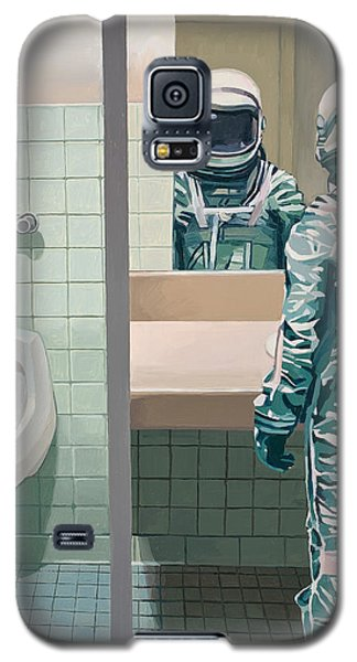 Men's Room Galaxy S5 Case by Scott Listfield