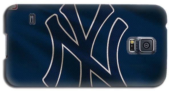 New York Yankees Uniform Galaxy S5 Case by Joe Hamilton