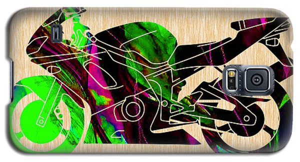 Ninja Motorcycle  Galaxy S5 Case by Marvin Blaine