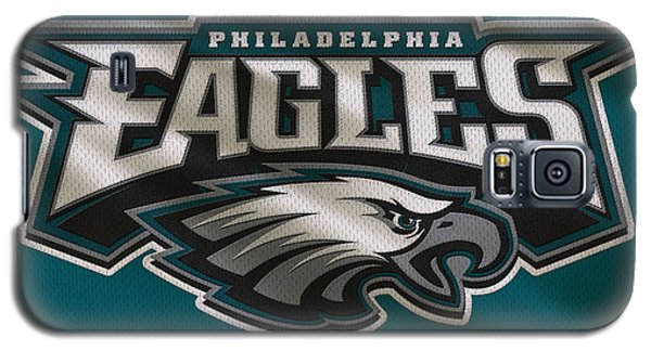 Philadelphia Eagles Uniform Galaxy S5 Case by Joe Hamilton