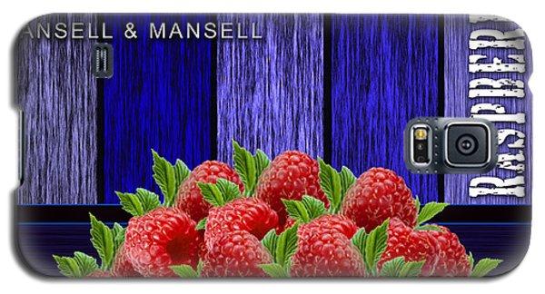 Raspberry Fields Galaxy S5 Case by Marvin Blaine