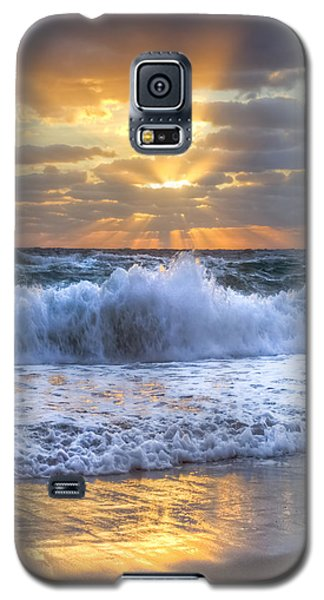 Buy Galaxy S5 Cases - Splash Sunrise Galaxy S5 Case by Debra and Dave Vanderlaan