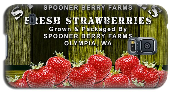 Strawberry Farm Galaxy S5 Case by Marvin Blaine