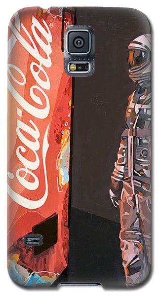 The Coke Machine Galaxy S5 Case by Scott Listfield