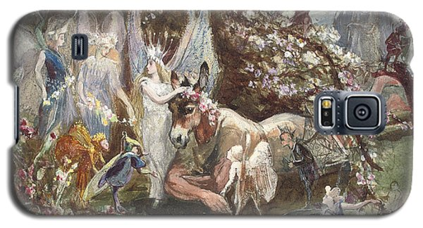 Titania And Bottom Galaxy S5 Case by John Anster Fitzgerald