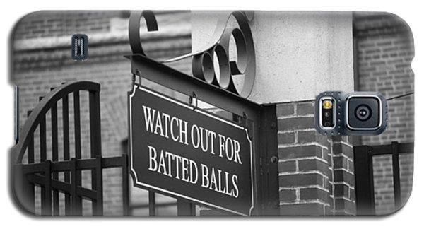 Baseball Warning Galaxy S5 Case by Frank Romeo