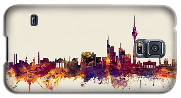 Berlin Germany Skyline Galaxy S5 Case by Michael Tompsett