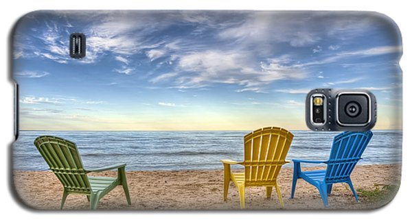 3 Chairs Galaxy S5 Case by Scott Norris