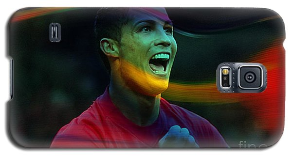 Cristiano Ronaldo Galaxy S5 Case by Marvin Blaine