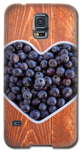 Fresh Picked Organic Blueberries Galaxy S5 Case by Teri Virbickis