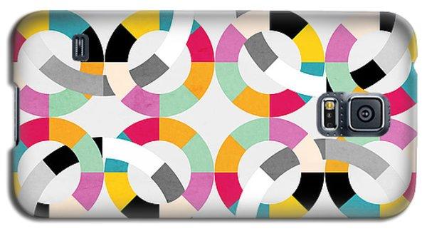 Geometric  Galaxy S5 Case by Mark Ashkenazi