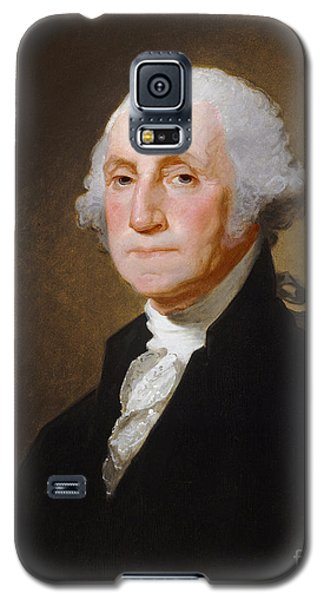 George Washington Galaxy S5 Case by Gilbert Stuart