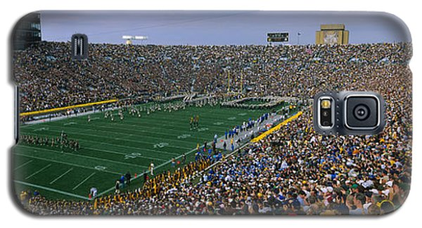 High Angle View Of A Football Stadium Galaxy S5 Case by Panoramic Images