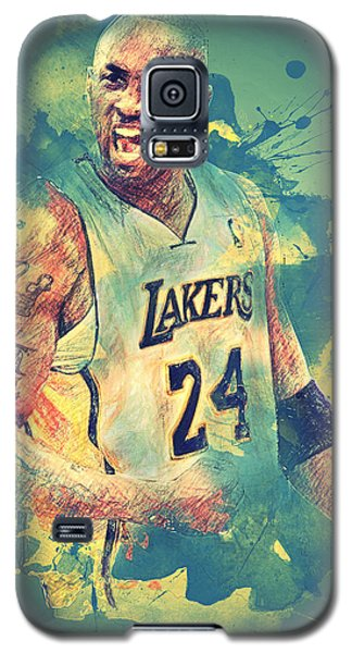 Kobe Bryant Galaxy S5 Case by Taylan Apukovska