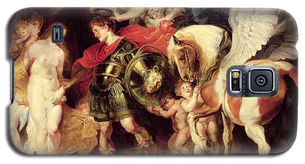 Perseus Liberating Andromeda Galaxy S5 Case by Peter Paul Rubens