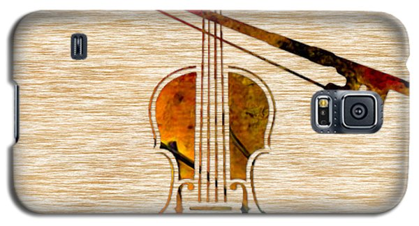 Violin And Bow Galaxy S5 Case by Marvin Blaine
