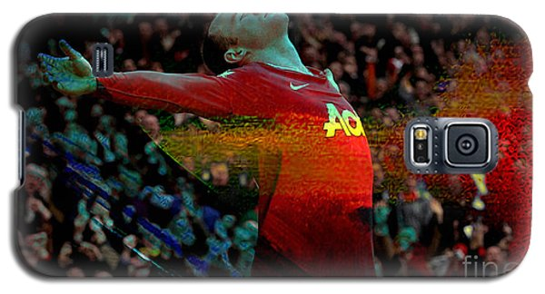 Wayne Rooney Galaxy S5 Case by Marvin Blaine
