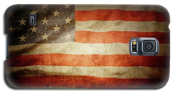 American Flag  Galaxy S5 Case by Les Cunliffe
