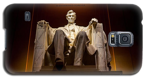 Lincoln Memorial At Night - Washington D.c. Galaxy S5 Case by Gary Whitton