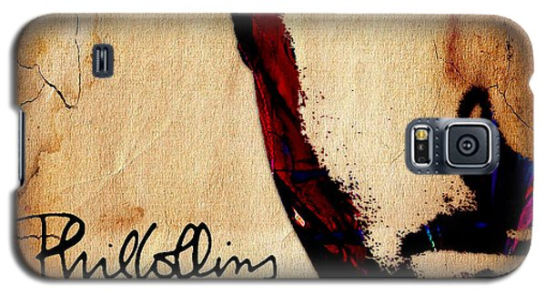 Celebrities Galaxy S5 Cases - Phil Collins Collection Galaxy S5 Case by Marvin Blaine