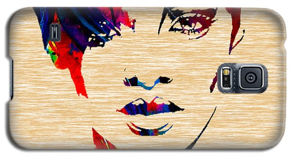 Rhianna Galaxy S5 Case by Marvin Blaine