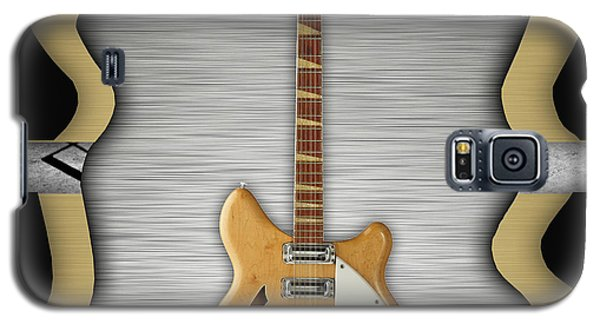 Music Galaxy S5 Cases - Rickenbacker Guitar Collection Galaxy S5 Case by Marvin Blaine