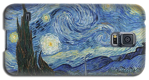 Moon Galaxy S5 Cases - The Starry Night Galaxy S5 Case by Vincent Van Gogh