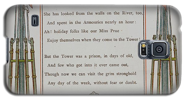 The Tower Of London Galaxy S5 Case by British Library