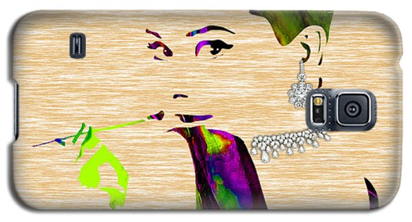 Audrey Hepburn Diamond Collection Galaxy S5 Case by Marvin Blaine