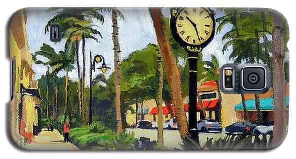 5th Avenue Naples Florida Galaxy S5 Case by Christine Hopkins