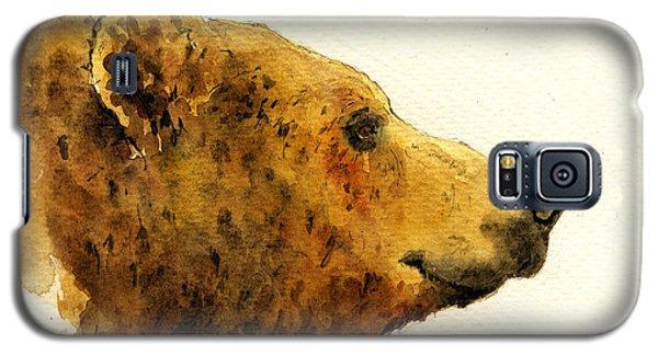 Grizzly Bear Galaxy S5 Case by Juan  Bosco