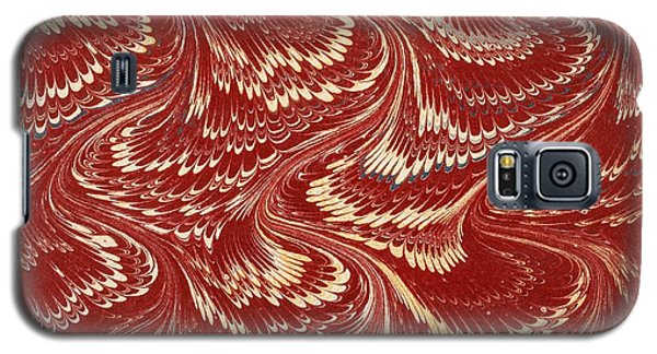 Tapestries - Textiles Galaxy S5 Cases - Decorative end paper Galaxy S5 Case by English School