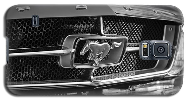 1965 Shelby Prototype Ford Mustang Grille Emblem Galaxy S5 Case by Jill Reger