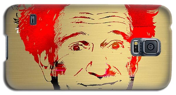 Robin Williams Art Galaxy S5 Case by Marvin Blaine