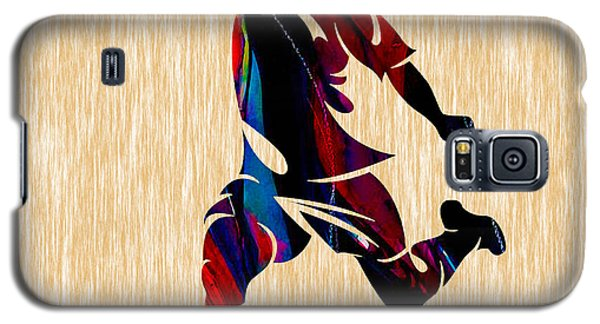 Soccer Galaxy S5 Case by Marvin Blaine