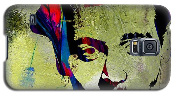 Johnny Depp Galaxy S5 Case by Marvin Blaine